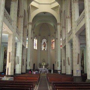 Interior Parroquia Jesús Nazareno