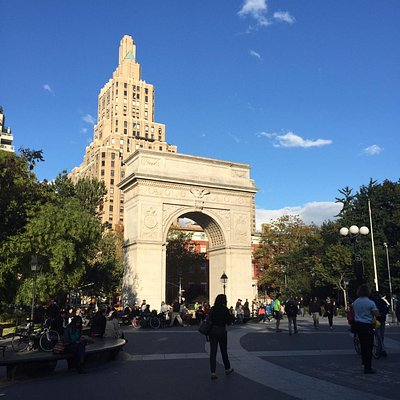 Washington Square Arch in NYC