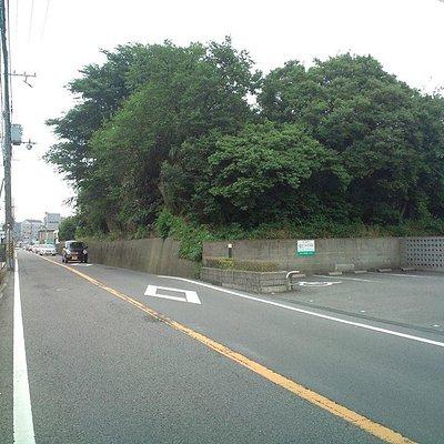 太田城水攻めの遺構