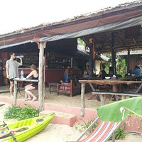 Roundhouse restaurant from the beach