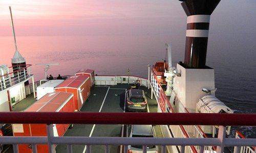 De boot naar Ameland 31 oktober 2015 17:30