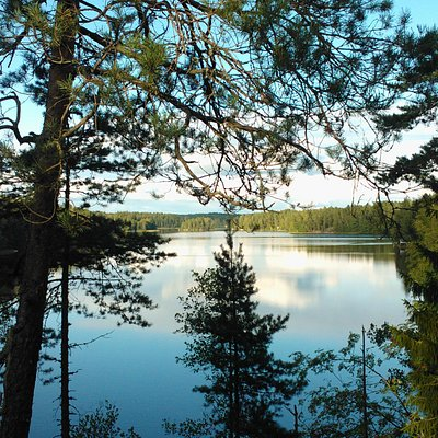 Lake Siikajärvi, south border of Nuuksio national park