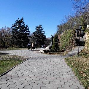 Памятник М.Ю. Лермонтова