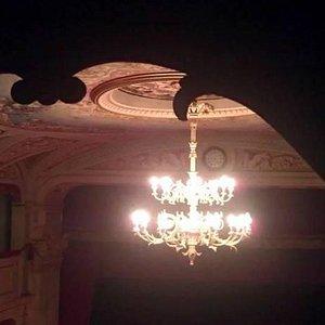 Visione aerea del teatro