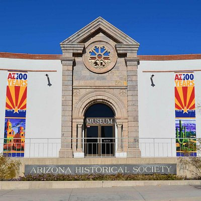 Front of Arizona History Museum