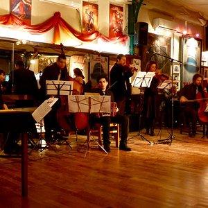Wunderbares Tangoorchester!