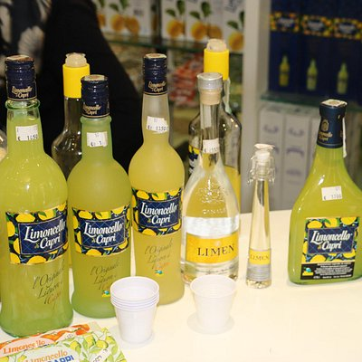 Limoncello variety of flavors