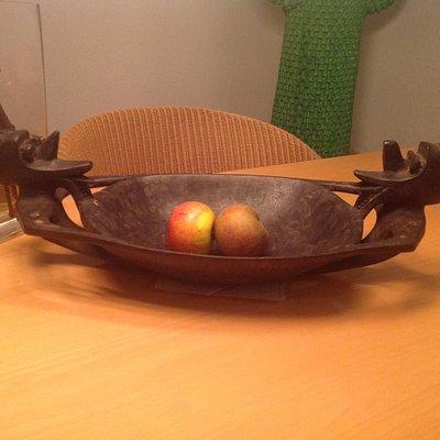 Iban offering bowl