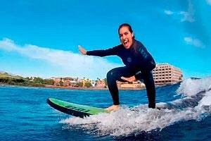 Surfea desde el primer día