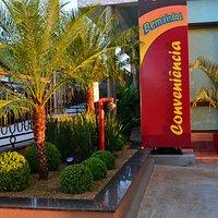Lanchonete do Posto Junior Bizunga - um local de muito charme e sabor