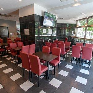 Breakfast Area at the Urbain Hiroshima Executive