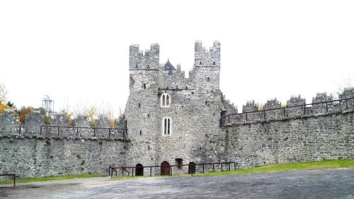 Swords Castle, 5 minutes walk from the Hotel