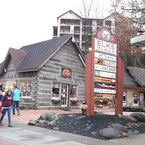 Elk's Plaza in Gatlinburg