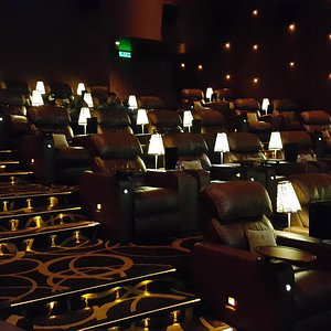 Best cinema - the seats