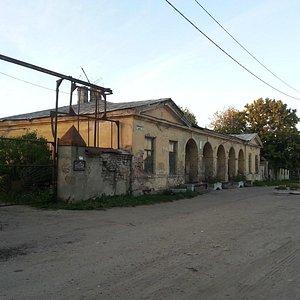 Почтовая станция в деревне Кипень