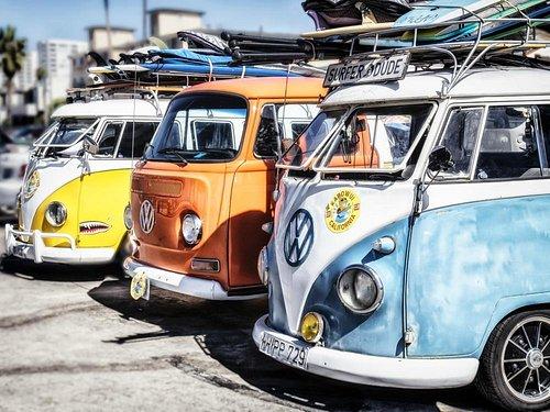 Kapwoui VW surf vans for rent movie, t.v., photo shoot.