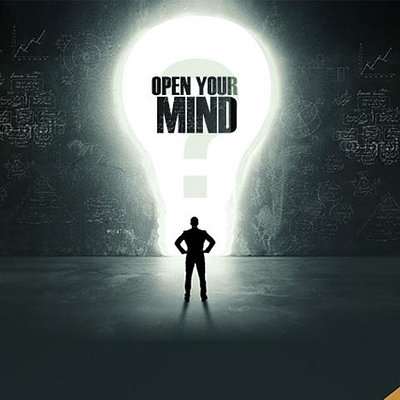 Open your mind to open the door