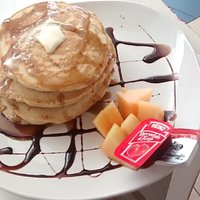 Try our homemade Pancakes