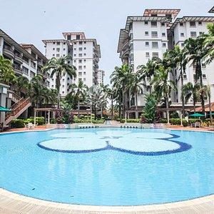 The Hibiscus Pool at the Mahkota Hotel Melaka