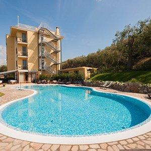 The Pool at the Hotel Johanna Park