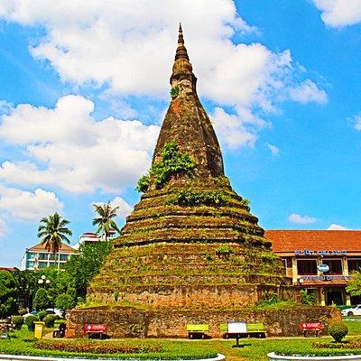 That Dam Black Stupa
