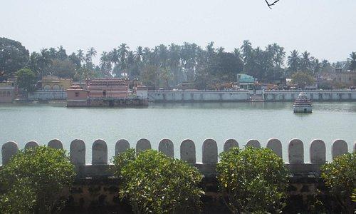 Serene and calm Narendra Sarovar