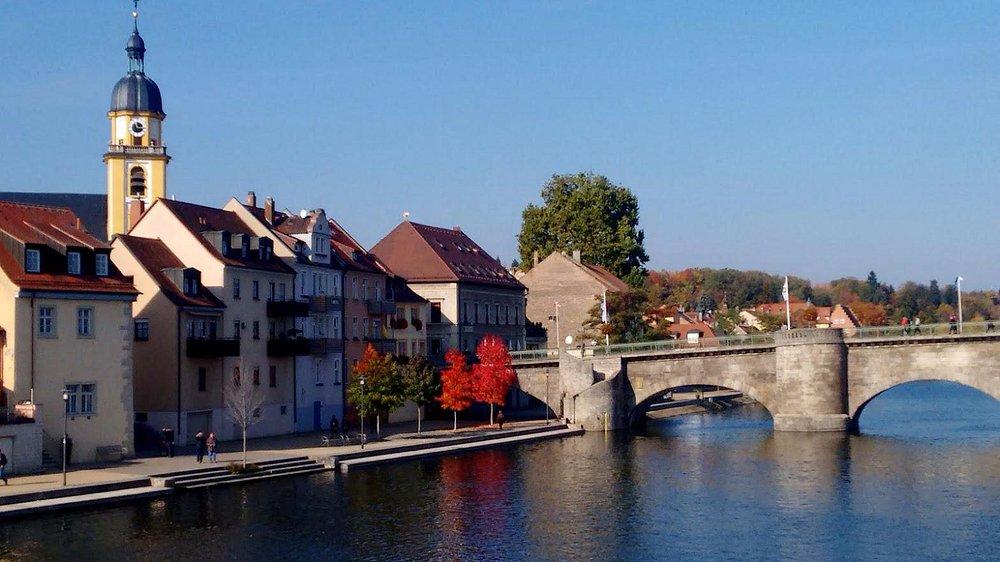 Ponte velha da cidade.