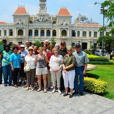 City hall of HCMC
