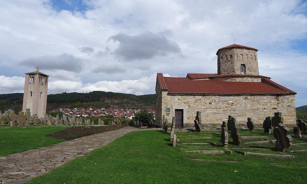 教会からみわたす農村がすばらしい風景です。