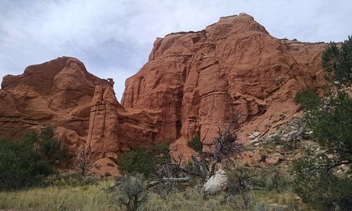 Rock formations along the Panorama Trail at Kodachrome Basin State Park