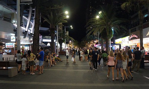 Cavill Avenue Mall-Surfers Paradise Qld