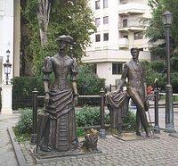 памятник Чехову на набережной