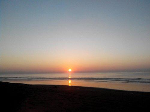 matahari terbit - pantai biaung - nop 2015