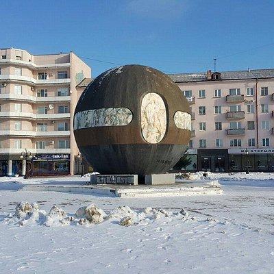 Скульптура Шар Бухгольца