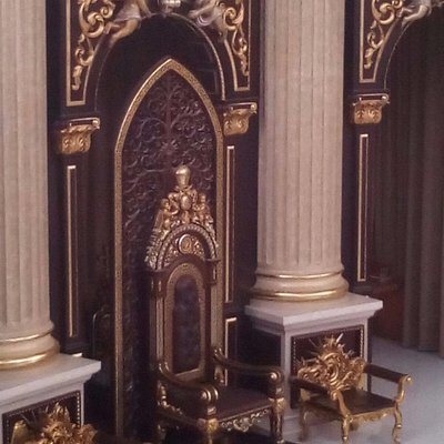 the chair of the archbishop of pontianak