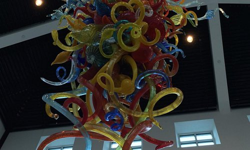 Magnificent Chihuly Chandelier