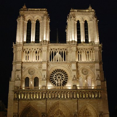 Night Notre Dame