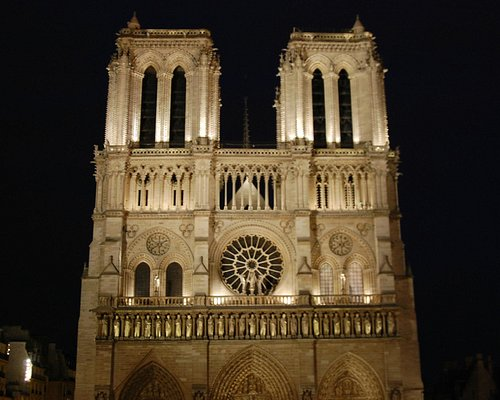Night Notre Dame
