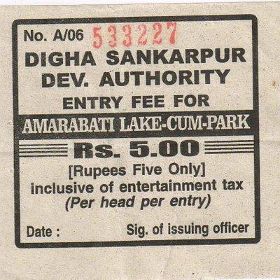 Amarabai Park ticket