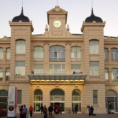 Estación Renfe Lleida-Pirineus