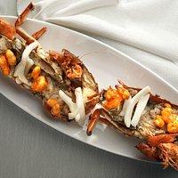 Grillades de fruits de mer