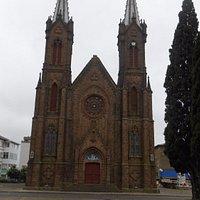 vista da igreja