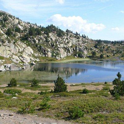 Lacs au pied du Carlit