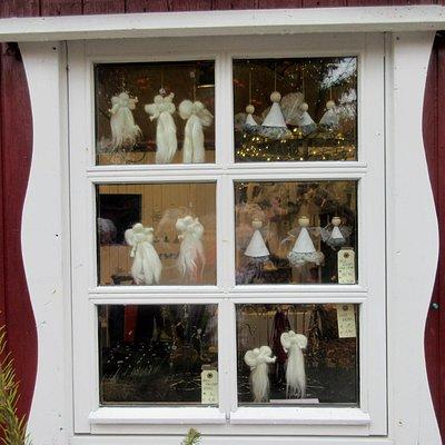 Hanne's jule-bod på torvet i Tønder