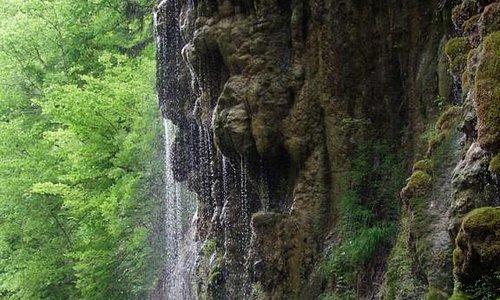 kanyon yağmur şelalesi