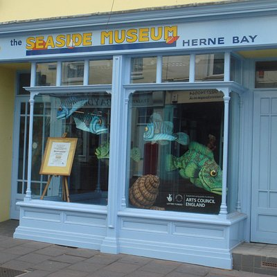 The Seaside Museum Herne Bay  |  12 William Street, Herne Bay CT6 5EJ, England
