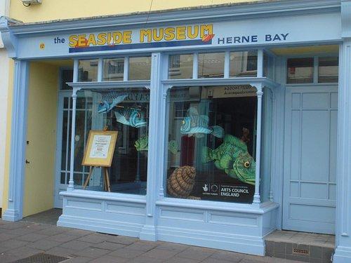 The Seaside Museum Herne Bay  |  12 William Street, Herne Bay CT6 5EJ, England