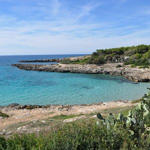 Spiaggia litoranea Salentina