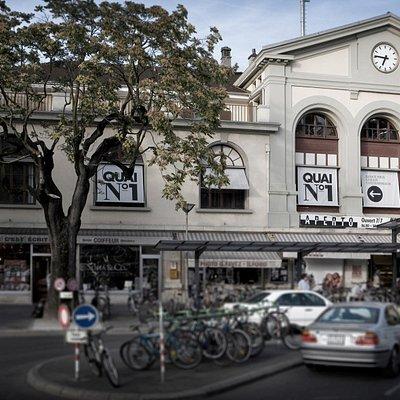 L'Espace Quai1 est situé dans la gare de Vevey