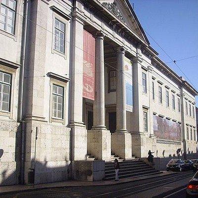 Museu Nacional de História Natural e da Ciência-Fachada principal